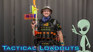 TACTICAL NERF LOADOUTS | AREA 51 RAID!