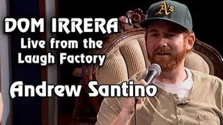 Dom Irrera Live from The Laugh Factory with Andrew Santino (Comedy Podcast)