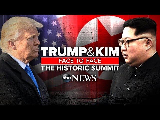 WATCH LIVE Trump-Kim Summit Historic US, North Korea meeting in Singapore