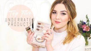 Top 5 Underrated Products! | I Covet Thee