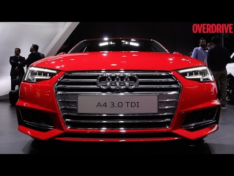 2016 Auto Expo: 2016 Audi A4 revealed to Indian audience