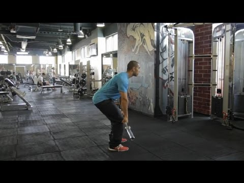 Grappling Exercises With a Barbell : Fitness Exercises Image 1