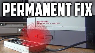 Permanently fixing the NES Red Blinking Light