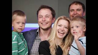 Billionaire tech mogul Elon Musk's family