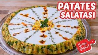 Yoğurtlu Patates Salatası Tarifi - Muhteşem Bir Patates Salatası (Kolay Tarifler)