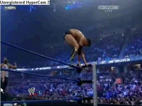 cody rhodes does the moonsault Video