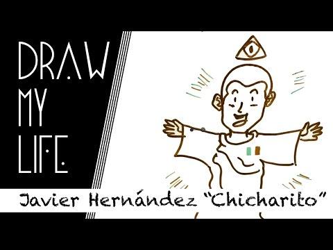 """Draw my life - Javier Hernández """"Chicharito"""""""