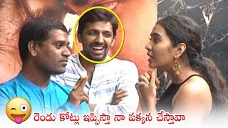 Bithiri Sathi Hilarious Fun With Shivathmika Rajashekar | Celebrities About Dorasaani Movie | TV