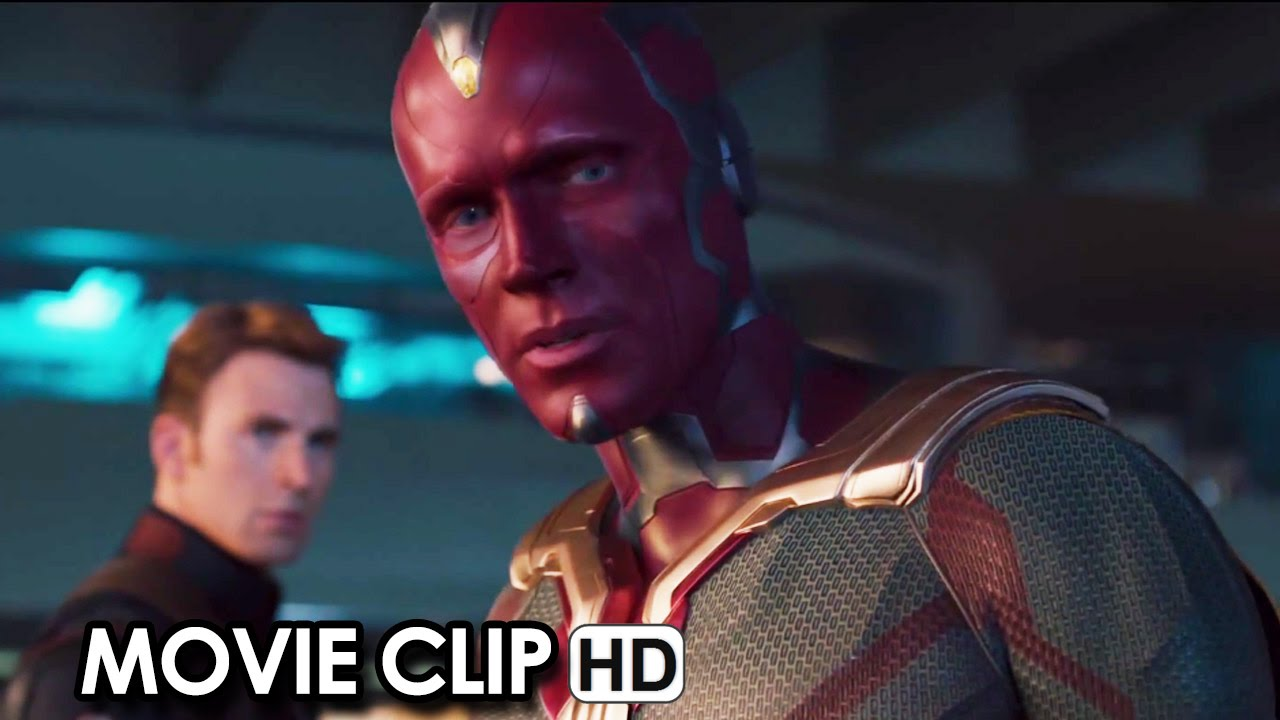 Avengers: Age of Ultron Clip 'Vision Lifts Hammer' (2015) - DVD Blu-Ray Release [HD]