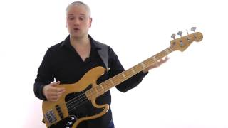 How To Read Music On Bass Guitar - Lesson 1