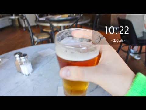 St. Patrick's Day [through Google Glass]