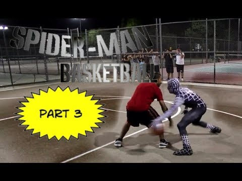 Spiderman Plays Basketball PART 3 'Symbiote Catch' ft LA Clippers Jamal Crawford