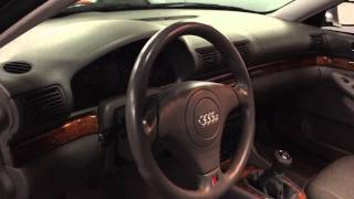 2001 Audi A4 2.8 Quattro Walkaround Presentation at Louis Frank Motorcars, LLC by Louis Marinello HD