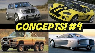 4 Dodge Concept Cars That Almost Made It // PART 4!