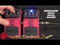 Super Metal Pedal Behringer Bugera SM400 SM-400 Boss Hyper Metal HM3 HM-3 Demo Review Randall Halo