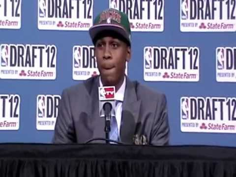 John Henson Talks Playing for Scott Skiles and More at 2012 NBA Draft