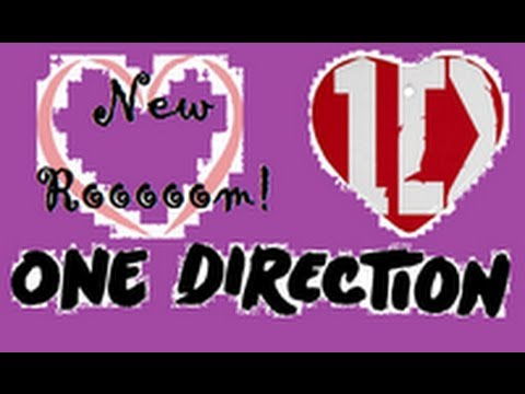 NEW One Direction Room! *April 2013*