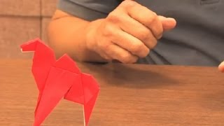 Instuctions For An Origami Camel : Origami Animals