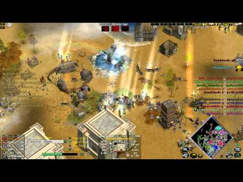 Age of mythology the TITANS 6V6 online match