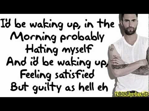 Maroon 5 - One More Night Lyrics Video