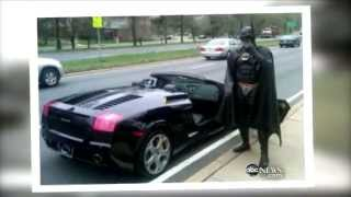 'Batman' Pulled Over By Police Caught on Tape