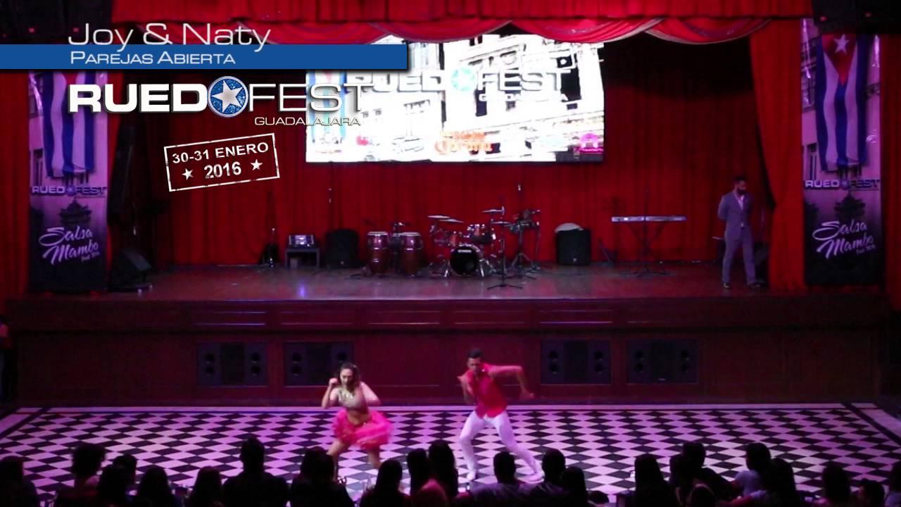 Joy & Naty | Parejas Abierta | Ruedafest 2016