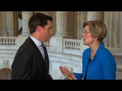 Warren: Trump gets 'F' on draining the swamp