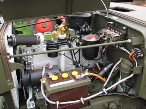 Dodge Wc52 Weapons Carrier 1943 Motor Youtube
