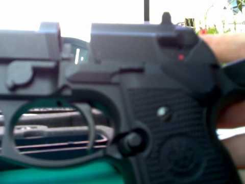 Presentazione Beretta 92 FS a CO2 calibro 4.5mm