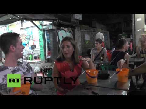 Thailand: Partying tourists pay little mind to protests