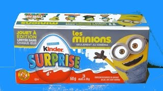 Kinder Surprise Eggs MINIONS 3 2015 Episode 2 Despicable ME SPECIAL Rare Oeuf Huevos Sorpresa