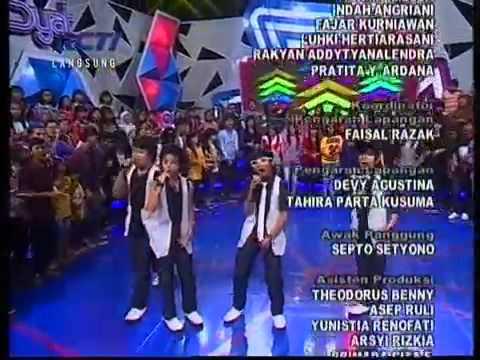 Coboy Junior   What Makes You Beautiful dahSyat RCTI 09 September 2012