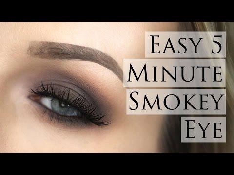 5 Minute Easy Smokey Eye - Morphe 35O Palette