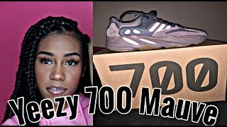 YEEZY 700 MAUVE UNBOXING, CLOSER LOOK + REVIEW