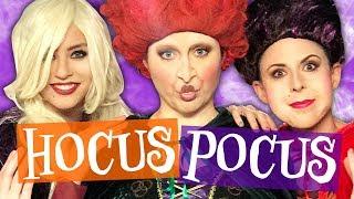 We Got Transformed into the Hocus Pocus Witches! (Beauty Break)