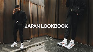 JAPAN LOOKBOOK / FIVE OUTFITS I Wore In Japan