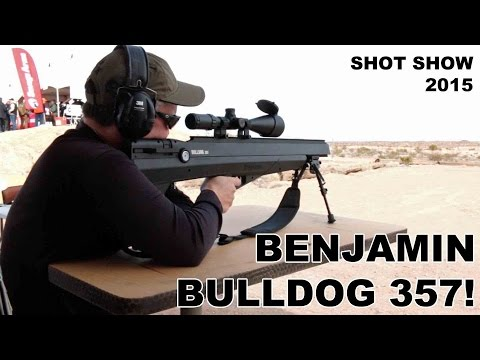 Benjamin Bulldog 357!  Big Bore Air Rifle