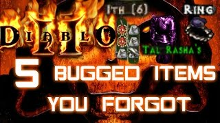 5 Bugged Items You Forgot in Diablo 2