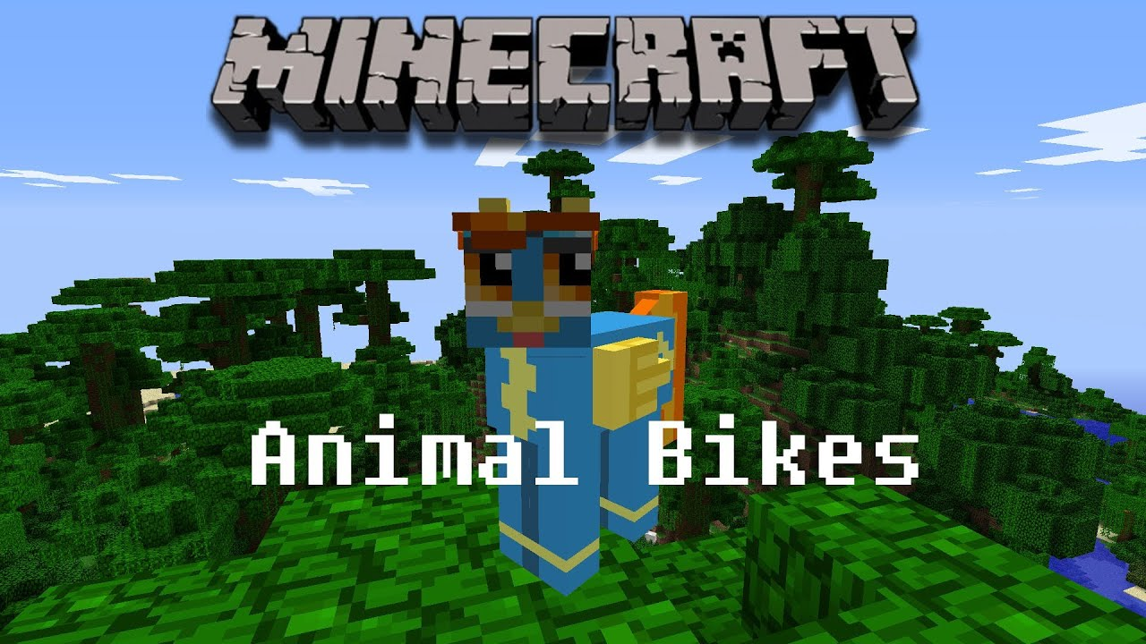 Animal Bikes Mod Minecraft Minecraft Mod Animal Bikes