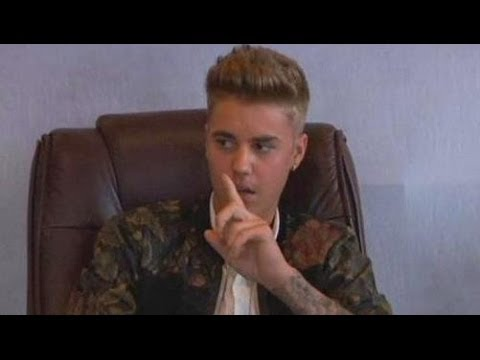 Justin Bieber Deposition Video -- Don