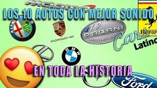 Los 10 Autos con Mejor Sonido en Toda la Historia *CarsLatino*
