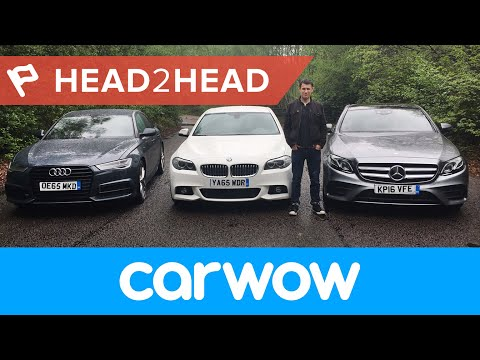 Mercedes E-Class 2017 vs BMW 5 Series vs Audi A6: Which is best?