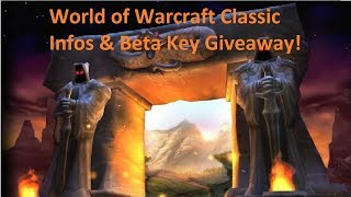 World of Warcraft classic beta infos leaked and talk!