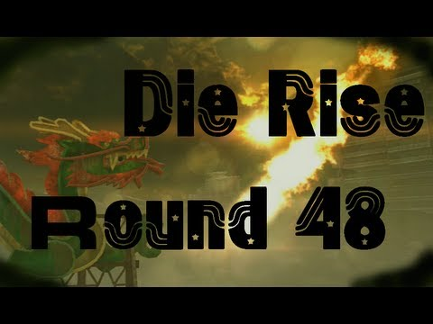 Die Rise World Record Round 48 - Black Ops 2 Zombies - TheRelaxingEnd & ChristianR87