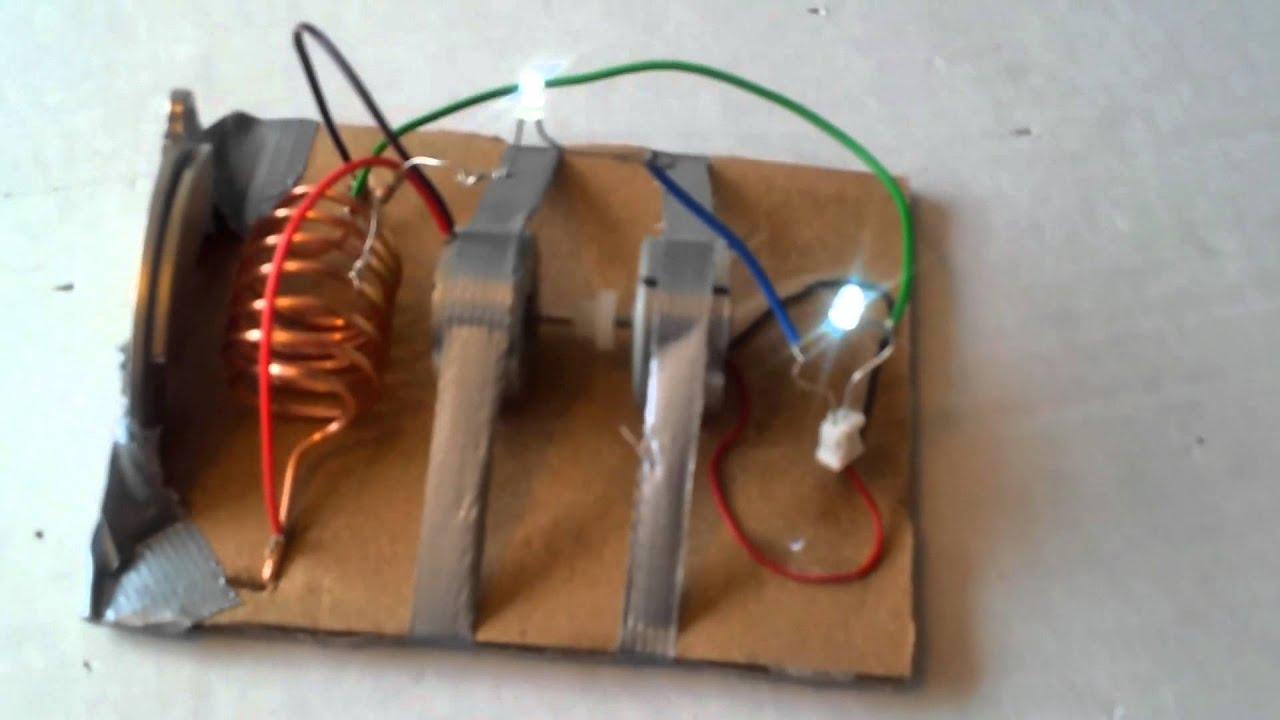 Генератор на электричестве своими руками 135