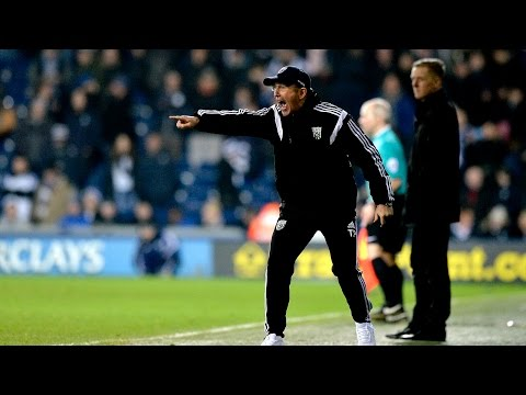 Tony Pulis is interviewed after West Bromwich Albion's 2-0 win over Swansea