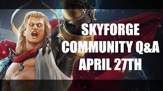 Skyforge PvP, Physics, Classes, Customization and more!