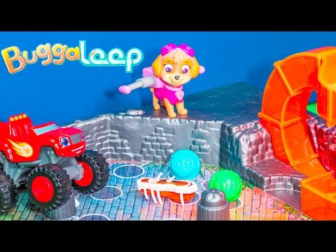 Unboxing the Hexbugs Buggaloop Game with Blaze Play Paw Patrol Toys