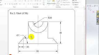 Measure Angle in SolidWorks