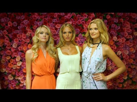 Victoria's Secret Angels Erin, Lindsay and Toni (Fashion and Beauty Video 2012)
